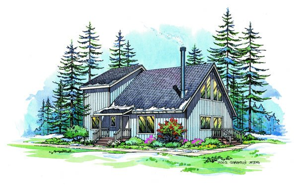PMHI Auburn Chalet home framing kit package, plans and price